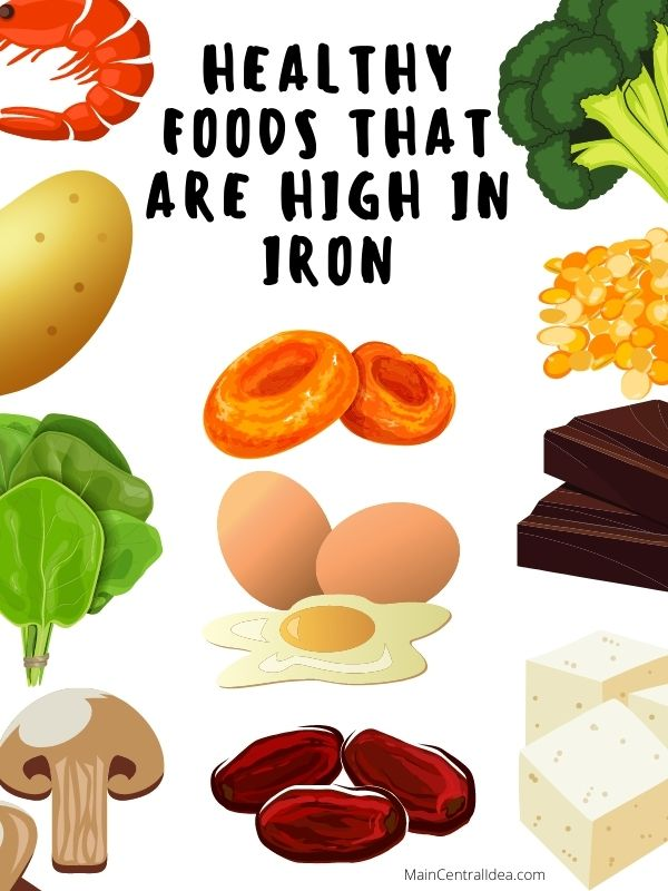 Healthy Foods That Are High In Iron