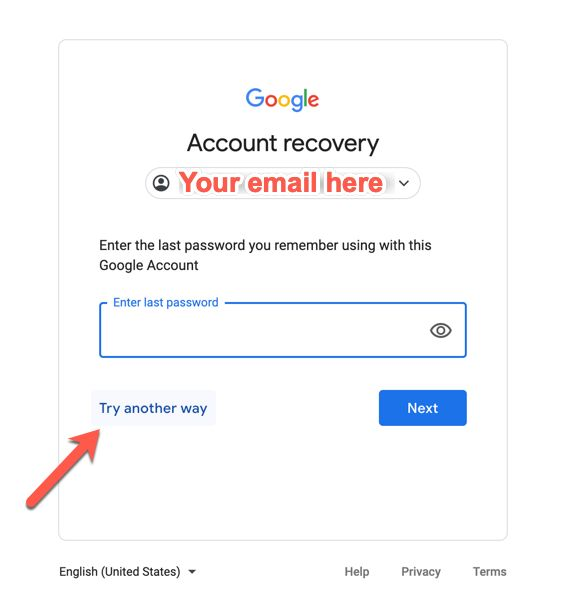 How To Recover Hacked Google Account Gmail Google Account Recovery Tips