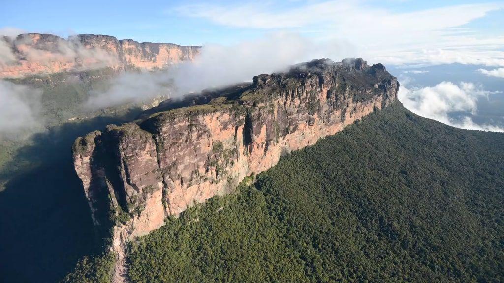 Tepuis Mountain Venezuela
