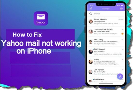 Yahoo Mail Not Working In iPhone fix